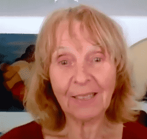 Michèle, grand-mère